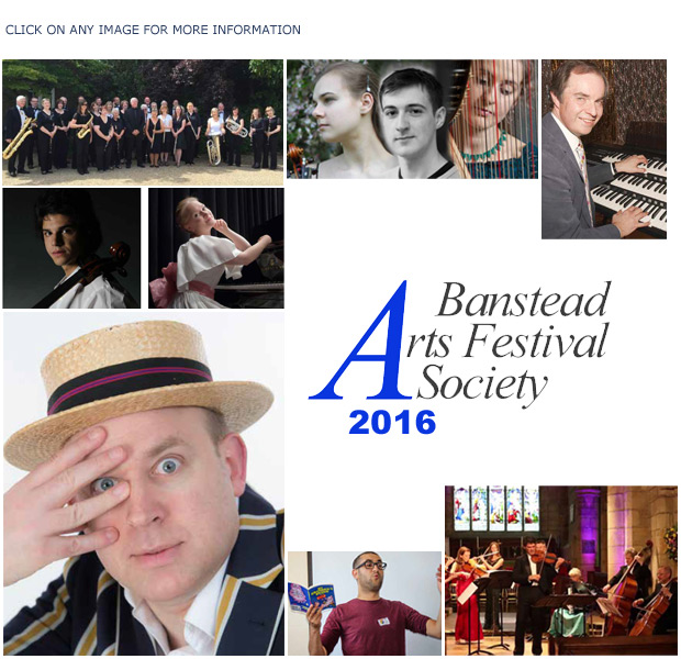 The 2013 Banstead Arts Festival