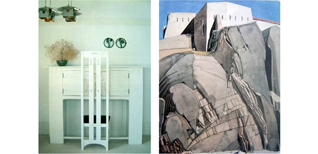 Arts Society Chipstead presents Charles Rennie Mackintosh Architectural and stained-glass window designer and watercolourist - Lecture by Anthea Streeter